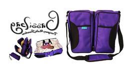 3 in 1 Bassibag Portable Bassinet Crib Changing Station Diap