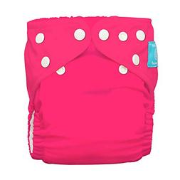 Charlie Banana 2-in-1 Reusable Diapers, Fluorescent Hot Pink