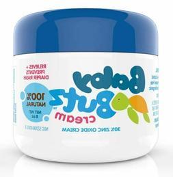 Baby Butz 100% Natural Diaper Rash Cream - 8oz