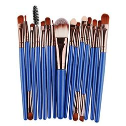 Diaper 15Pcs/Set Makeup Brushes Set Cosmetic Foundation Eyes