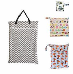 1PC S M L XL One zipper, Tow zippers Menstrual Pads Wet Bag