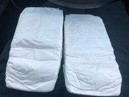 2-1996 Vintage Pampers Plastic Backed Baby Diapers
