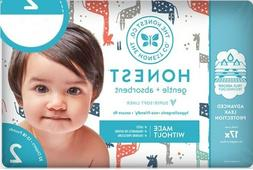 The Honest Company Gentle Diapers, Size 2, 128 ct, Giraffe
