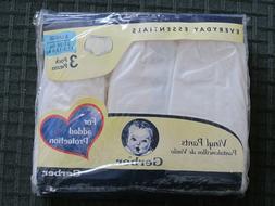 Gerber vintage PULL ON Vinyl Pants 3 packs X-LARGE size fro