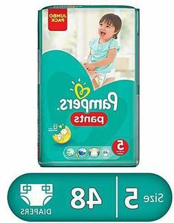 288 Pampers Baby-Dry Pants Size 5, 6 x 48 Jumbo Pack- Free s
