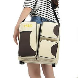 3 In 1 Multi Function Baby Diaper Bag Portable Safe Sturdy H
