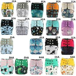 3/lot U Pick ALL IN ONE AIO Reusable Baby Cloth Diaper Nappy