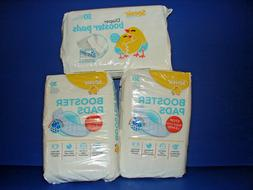 3 PACK Sposie Baby Booster Diaper Pads 30 PER PACK **BRAND N