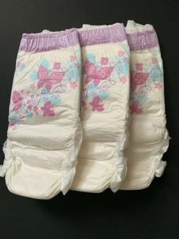 3 Vintage Girls Goodnites XL Bedwetting diapers