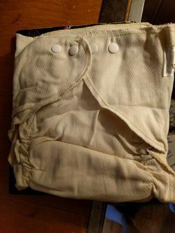 4 Osocozy cloth snap button diaper toddler