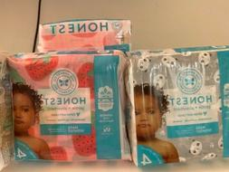 NEW The Honest Company Gentle Diapers, Size 4, 92 ct, Panda