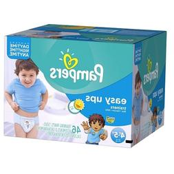 Pampers Easy Ups Boys Size 4T5T Big Pack, 46 ea
