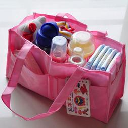 7 Grid Diaper Bags for Baby Girls Boys Nappy Changing Insert