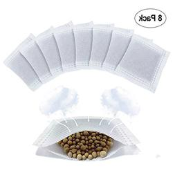 8 Pack Diaper Pail Deodorizer, Natural Diatomite Carbon Filt