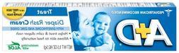 A+D Diaper Rash Cream, Dimethicone Zinc Oxide Cream - 1.5 oz
