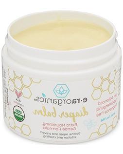 Baby Diaper Rash Balm – USDA Certified Organic Soothing Di