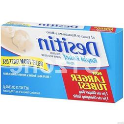 Desitin Rapid Relief Diaper Rash Cream 2 HUGE SIZE Tubes 12o