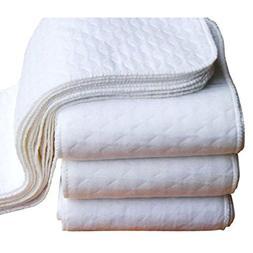 FEITONG New 10 Pcs Baby Cotton Washable Reusable Soft Cloth