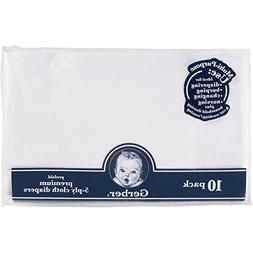 Gerber 20-Pack Prefold Premium 5-Ply Cloth Diapers