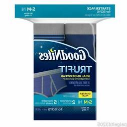 Goodnites Tru-Fit Real Underwear Starter Pack, S/M, Boys, 7