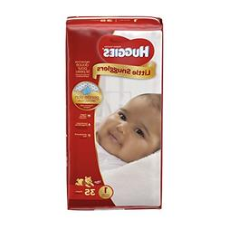 HUGGIES Little Snugglers Baby Diapers, Size 1, 35 Count, JUM