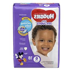 Huggies Diapers Little Movers Disney Size 6  18 CT