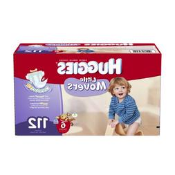 Huggies Little Movers Diapers Economy Plus, Size 6, 112 Coun