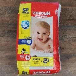 Huggies Snug and Dry Diapers - Size 2-38 ct