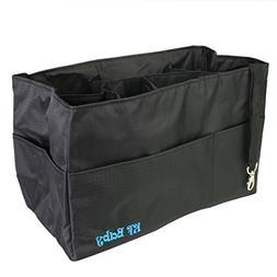 KF Baby Diaper Bag Insert Organizer - 12 x 6.4 x 8 inch, Bla