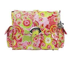Kalencom 0-88161-95307-6 Coated Midi Buckle Bag Jazz Ruby