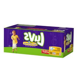 Luvs With Ultra Leakguards Big Pack Size 5 Diapers 80 Count