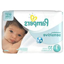 Pampers Swaddlers Sensitive Disposable Diapers Newborn Size