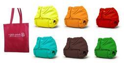 Rumparooz Newborn Cloth Diaper Covers, 6 pack, Gender Neutra