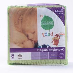 Seventh Generation Stage 5 Overnight Baby Diaper - 20 per pa