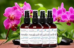Set of 4-2-oz.-Concentrated Spray Air-Freshener/Deodorizer -