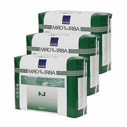 Abena Abri-Form Comfort Briefs, Plastic Backed, Large, L4, 3