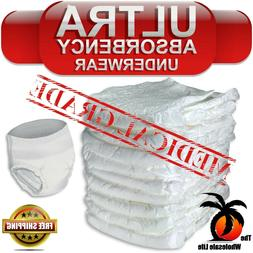Adult 72 Disposable Heavy Absorbency Size L Large Pull On Up