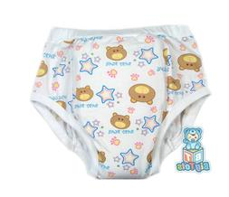 Adult training pant Baby Bear print diaper incontinence pant