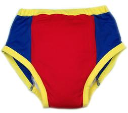 Adult training pant  Red & Blue diaper incontinence pants au