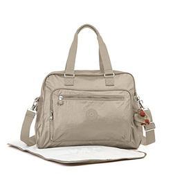 Kipling Alanna Diaper Bag, Metallic Pewter