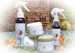 ALL-NATURAL, ORGANIC, DIAPER RASH COMBO KIT! Spray & Cream.