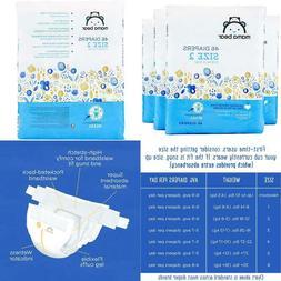 Amazon Brand - Mama Bear Diapers Size 2, 184 Count, Bears Pr