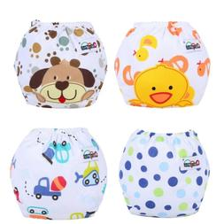 Animals Print Baby Child Potty Training Cute Pants Cloth Dia