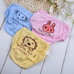 Animals Prints Baby Child Potty Training Cute Pants Cloth Di