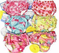 2PK Assorted I Play Boys Washable Swim Diaper Cover UPF 50+