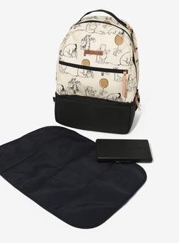 Petunia Pickle Bottom Axis Backpack, Winnie the Pooh and Fri