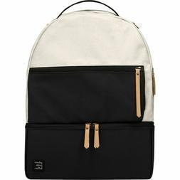 Petunia Pickle Bottom Axis Backpack - Birch/Black - Brand NE