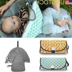 Baby Changing Pad Foldable Travel Toddler Diaper Mat Infant