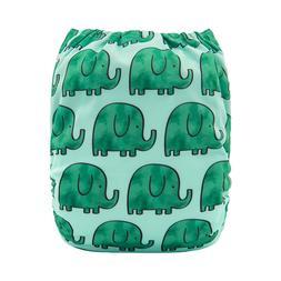 ALVA Baby Cloth Diaper One Size Reusable Washable Pocket Nap