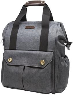 Baby Diaper Bag and Backpack: Unisex Designer Quality with S